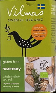 Vilmas Rosemary Organic Crackers 90 gr